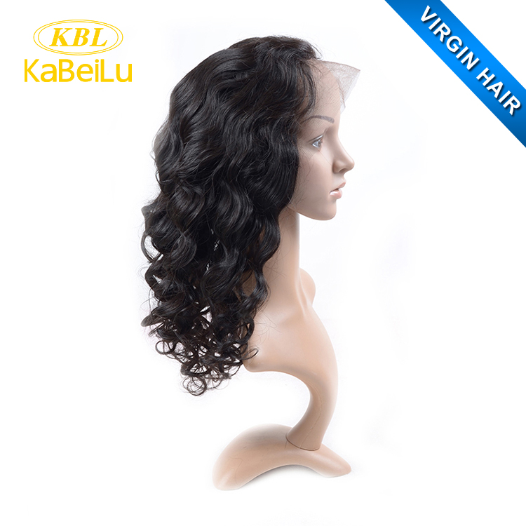Wholesale silk base full lace wig with baby hair,short brazilian human hair wigs for black women
