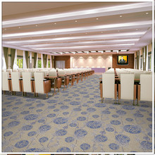 Carpet Grey Pattern Modern Wilton Carpet for Hotel Banquet Hall