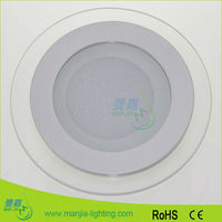 2016 Top sale 6w 12w 18w round recessed led flat panel wall light