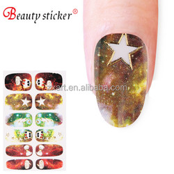 Fashional nail sticker, star nail sticker for ladies