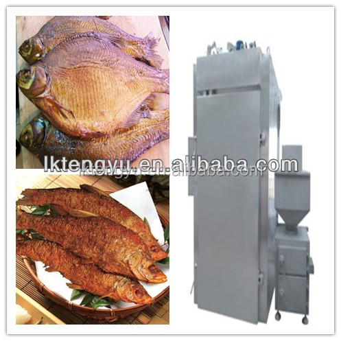 Small Prodcution Fish Smoking Machine / Smoker