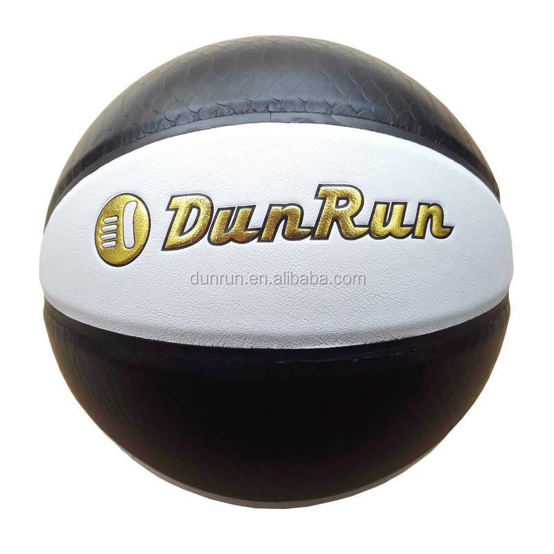 Double Color Full Printed PU Competition Basketball