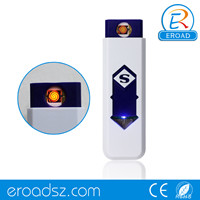Eroad Stylish and Practical Dual Arc USB Rechargeable Windproof Flameless Lighter