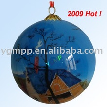 decoration glass ball,frosted glass ball,holiday glass ball