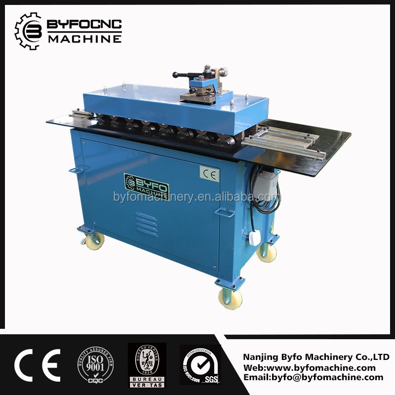 Alibaba recommends Nanjing Byfo square air pipe seam lock machine for sale