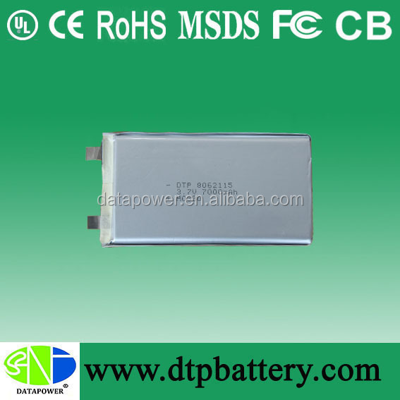 26650 7000mah 3.7v battery tablet 18650 ni-mh lithium ion battery pack