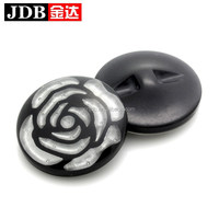 high quality fashion large designer clothing buttons for women coat