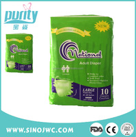 Two Side Elastic Waist Band Hot-selling adult baby style diapers