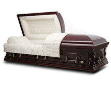 Us Style Casket FEMALE ESTHER CHERRY Cheap Wood Coffin For Sale