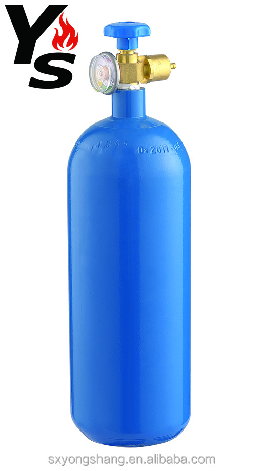 2L Seamless Industrial Oxygen Gas Cylinder (high pressure)