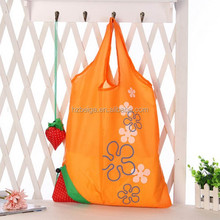 handbag stock foldable reusable strawberry shopping bags
