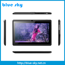 7 inch ALLWINNER A33 -1.5GHZ A7 quad core Android tablet pc with Bluetooth WIFI G-Sensor
