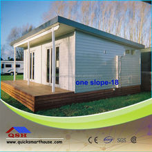prefab house for store