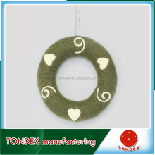 2016 new style house beautiful wholesale christmas ornaments fashion woolen decoration