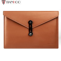 High Quality Soft Genuine Leather Laptop