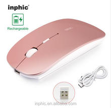 Wholesale computer accessories ultra slim rechargeable 2.4ghz wireless optical mouse
