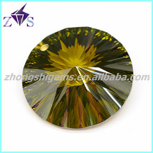 Round Shaped Synthetic Cubic Zirkon for Making Bracelets
