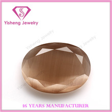 AAA Oval Shape Double Faceted Cat Eye Gemstone bulk for Afghanistan
