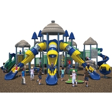 Toddler Play Equipment Bule outdoor playground equipment/park play structure