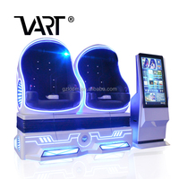VART Fabulous Virtual Reality Equipment Larger Capacity Powerful Movement 9D Egg Vr Cinema For Sale