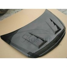 Carbon Fiber Hood Bonnet MU with Vents for Honda City
