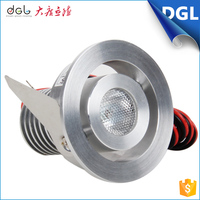 High efficiency good heat dissipation 1w 3w Aluminum led ceiling spot light indoor led spotlight made in china for home decor