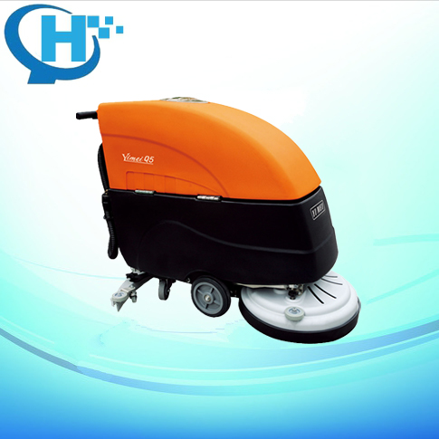 Q502 battery type floor scrubber used dry cleaning machine for sale