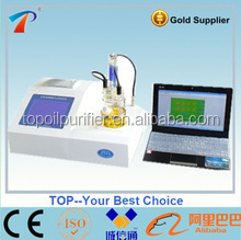 high luminance , 0.1 microgram' sensitivity Water /Moisture Content Tester /Detector/Analyzer instrument for Oil TP-6A