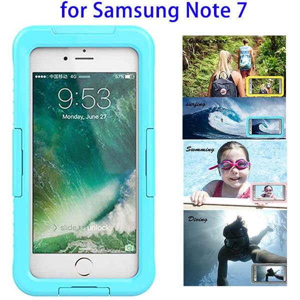 Waterproof Swimming Diving Full Seal Underwater Cover Case for Samsung Galaxy Note 7