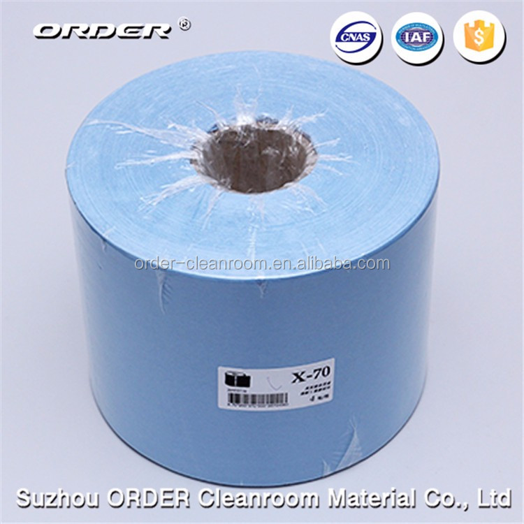 High quality disposable spunlace nonwoven perforated clean cloth in rolls