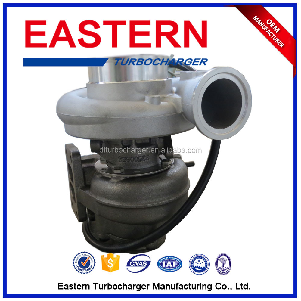 Auto Engine parts HX35W Turbo for Truck With 6 Cylinder 4v Engine Rebuilt Turbos Exhaust Turbocharger Working 4050267 4050268
