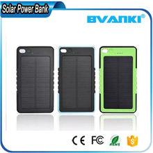 2016 New Product High Quality Power Bank Solar Charger 8000Mah Waterproof And Shcokproof Portable Solar Power Bank For iPhone 7