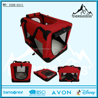 Foldable Pet Carriers Bag with Handle and Zipper Door(ESDB-0313)
