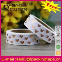 Wholesale printed colorful washi paper tape rice paper