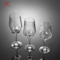 Professional design eco-friendly drinking transparent plastic red wine cup