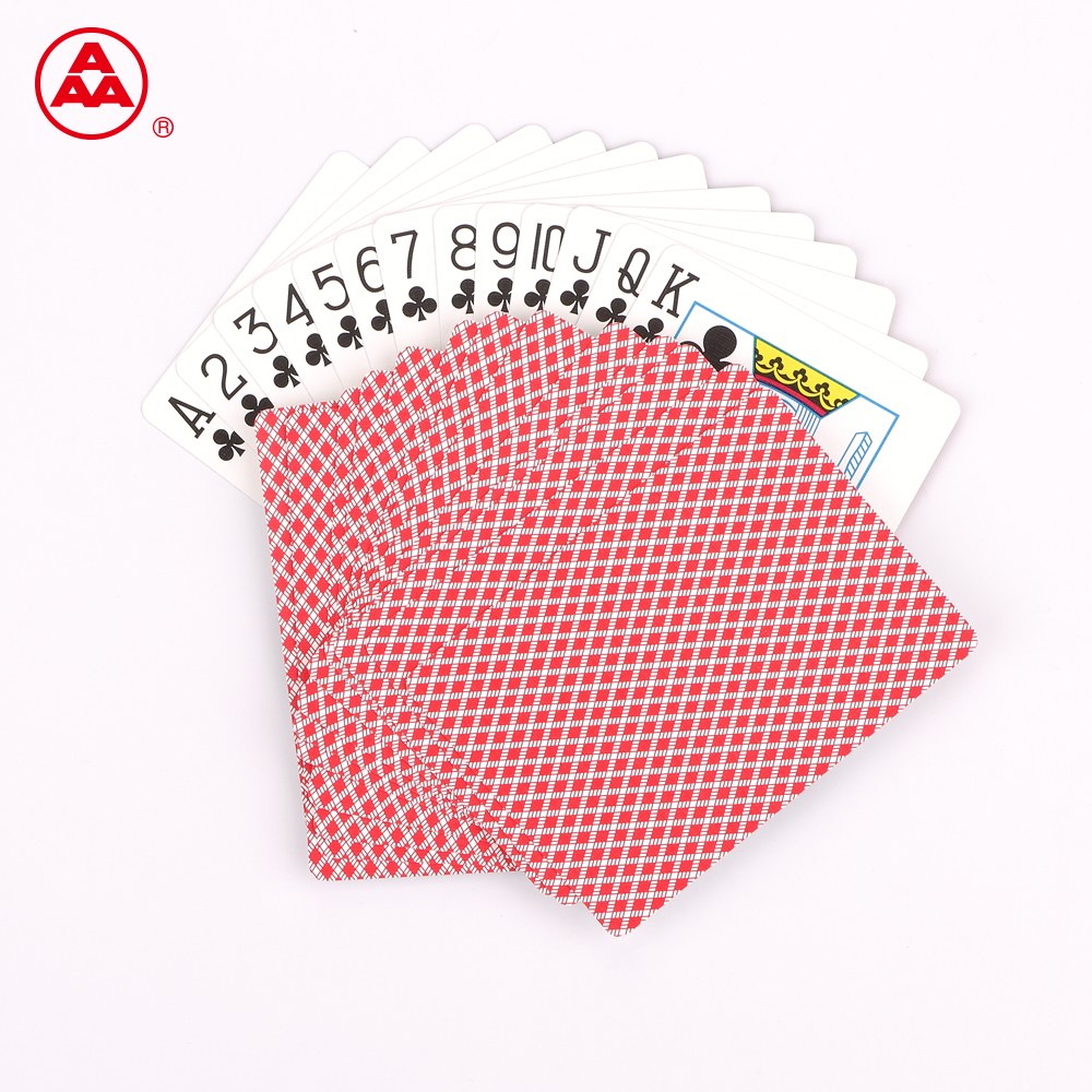 OEM available customized poker card custom printing paper poker playing card