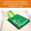 White Color Printing Recycled Non Woven Bags Suppliers