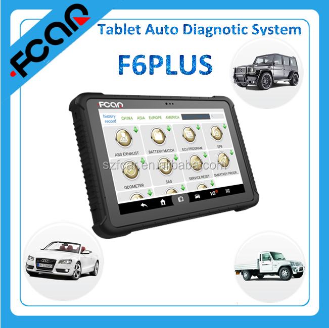 Fcar latest model F6 plus diagnostic machine for all cars with android