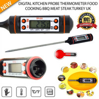 Useful lcd digital thermometer kitchen food probe meat thermometer