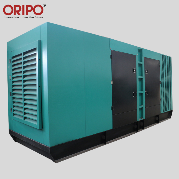 Three phase four wires super silent diesel generator set for sale