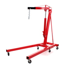 Vehicle Equipment 2 Ton Folding Fliexable Shop Engine Crane For Voiture Repair For Sale