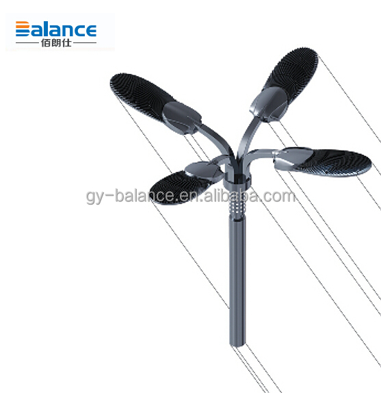China Manufacturer Factory Price led high power lamp post