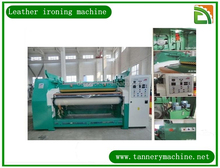 fur ironing machine of roller leather ironing machine