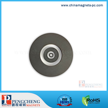 radial magnetization Y30 Ferrite Ring Magnet for Crafts