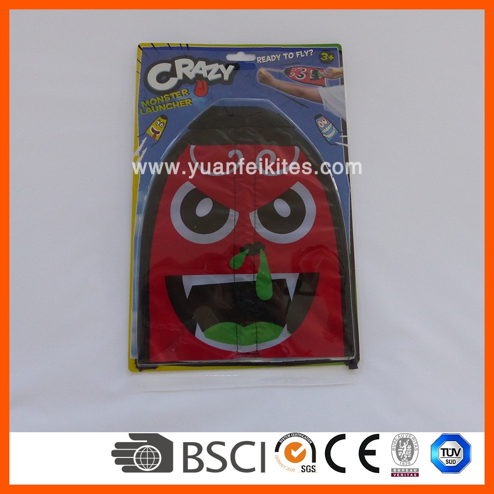 cheap slingshot flying toy  kite / mini flying kite toy from the kite factory