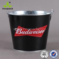 metal beer ice bucket acrylic beverage bucket wholesale