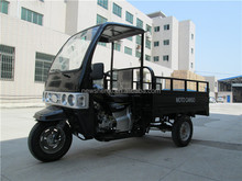 200CC Cabin Motor Tricycle Three Wheel Cargo Trike with Front Tent