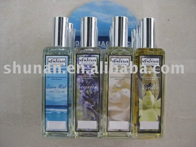 Room spray air freshener with glass bottle SAB503