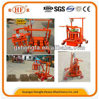 block paving laying making machine