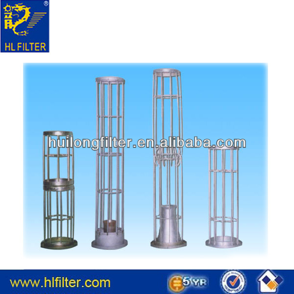 Application Non-ferrous metal process industries dusting collector cage